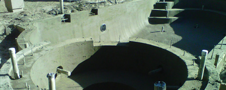 Gunite Installation