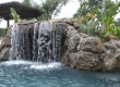 Custom Water Feature - Stone Waterfall with Grotto