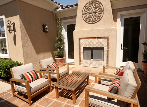 Outdoor Living Room Wood Furniture