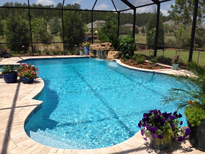 Image Result For Inground Pools With Waterfalls